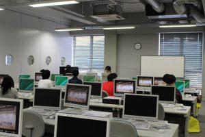 安本研の研究室体験の様子